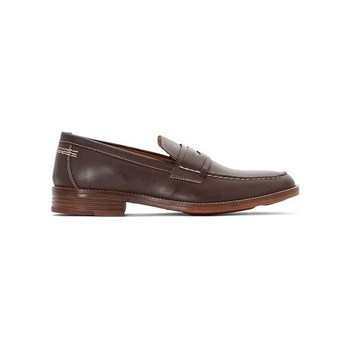 Hush Puppies - Gallant - Mocassini in pelle - marrone