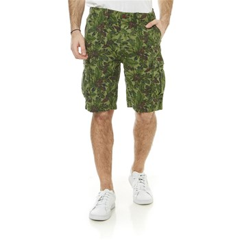 Pepe Jeans London - Journey Flower Short - Shorts, Bermudas - khaki