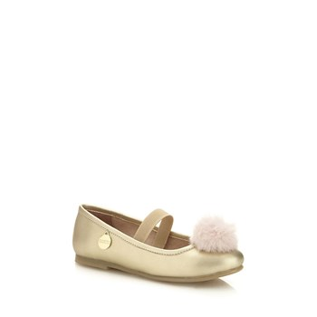 Guess Kids - Lorelai - Ballerines avec pompon - or