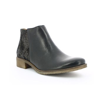Lower - Boots en cuir - noir