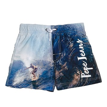 Pepe Jeans London - Enzo Jr - Boardshort - bleu