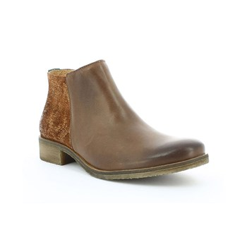 Lower - Boots en cuir - marron