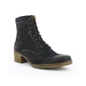 Missing - Boots en cuir - noir
