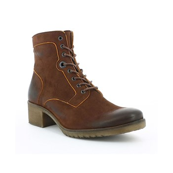Missing - Boots en cuir - marron