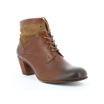Seet - Bottines en cuir - marron