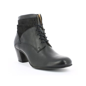 Seet - Bottines en cuir - noir