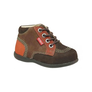 Babystan - Bottines en cuir - marron