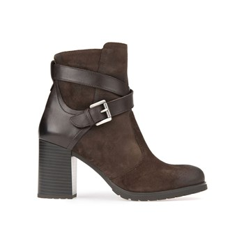 New Lise - Bottines en cuir - marron