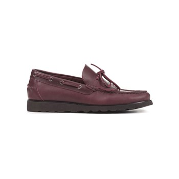 Geox - Worker - Mocassins en cuir - bordeaux