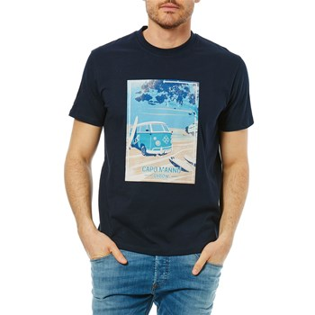 Tonco - Kurzärmeliges T-Shirt - marineblau