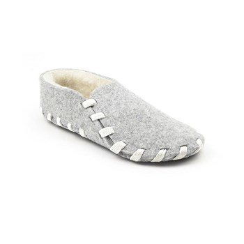 lasso shoes - Chaussons lainé adulte - blanc