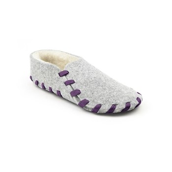 lasso shoes - Chaussons  lainé adulte - violet