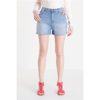 Bonobo Jeans - Short - denim azul