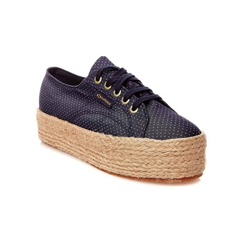 Superga - Cotu print - Baskets Mode - bleu brut