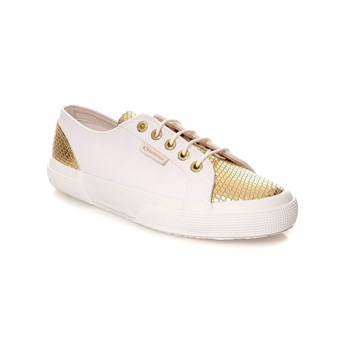 Superga - Cotu snake - Baskets Mode - blanc