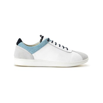 Hacter - Match Point - Sneakers en cuir - blanc