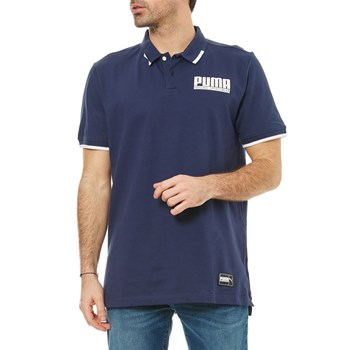 Athletic - Polo manches courtes - blu