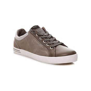 Pepe Jeans Footwear - North Mix - Baskets Mode - gris