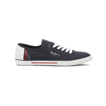 Pepe Jeans Footwear - ABERMAN - Baskets Mode - bleu marine
