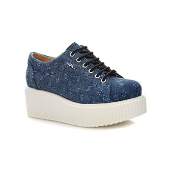 Zapatillas con plataforma - denim azul
