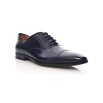Geox - New Life - Derby in pelle - blu scuro