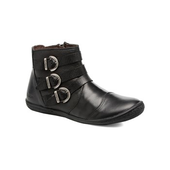 Calina - Derby in pelle - nero