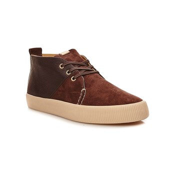 Alvar - Sneakers alte in pelle - marrone scuro