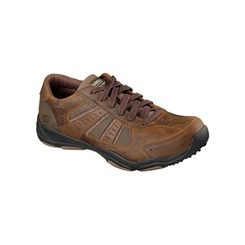 Skechers - LARSON - Scarpe in pelle - marrone