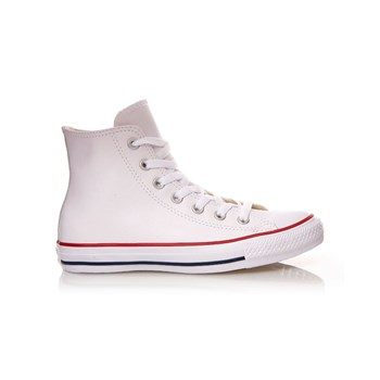 Chuck Taylor All Star Hi - Sneakers alte in pelle - bianco