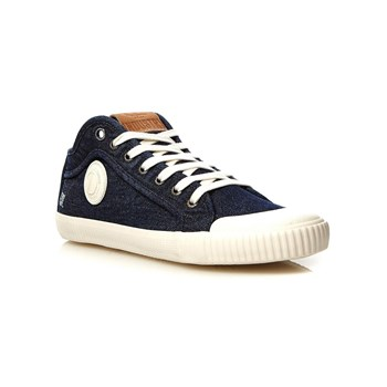 Pepe Jeans Footwear - Industry Blue Denim - Baskets - denim bleu