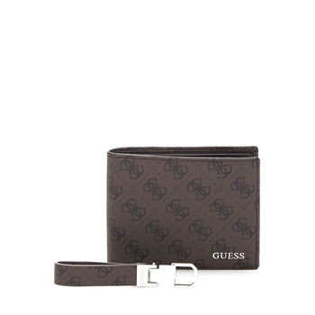Guess - City - Coffret cadeau à logo - marron