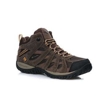 Columbia - REDMOND MID WATERPROOF - Scarpe sportive - marrone