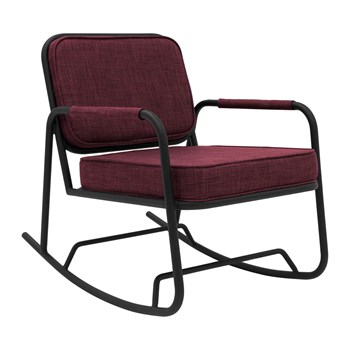 Potiron - Anamour - Rocking Chair - prune