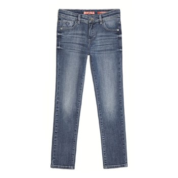 Guess Kids - Jean slim - denim bleu