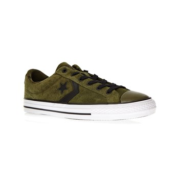 Player Ox - Ledersneakers - khaki