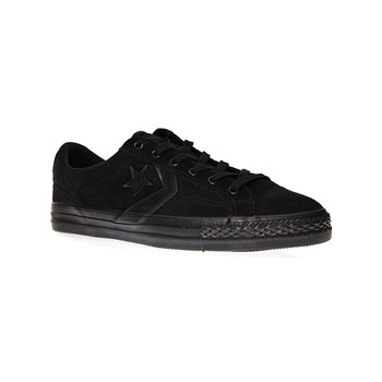 Player Ox - Ledersneakers - schwarz