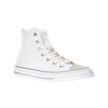 Chuck Taylor All Star Tipped Metallic Toecap Hi - Sneaker alte - bianco