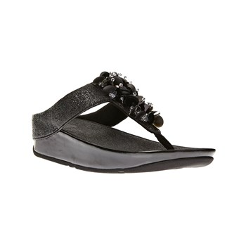 FitFlop - Tongs en cuir - noir