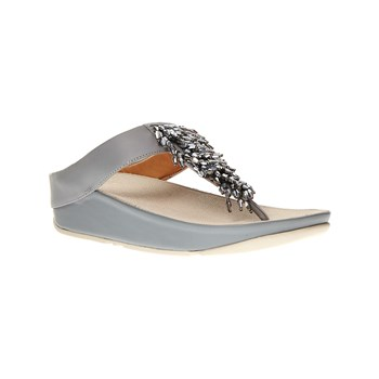 FitFlop - Tongs en cuir - bleu