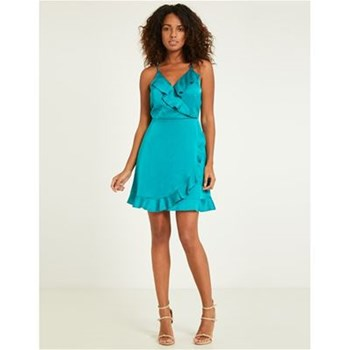 Morgan - Robe fluide - turquoise