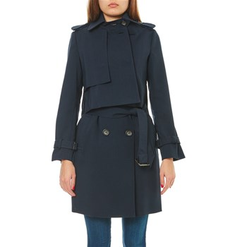 Benetton - Trenchcoat - schwarz