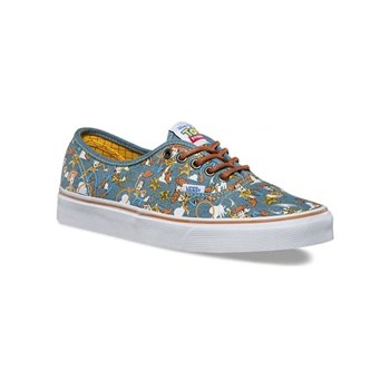 Vans - Authentic - Turnschuhe,  Sneakers - gemustert