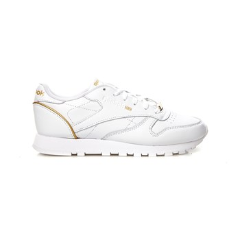 Classic Leather HW - Zapatillas de cuero - blanco