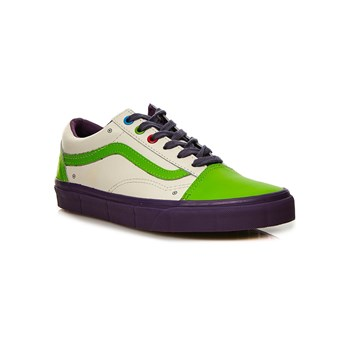 Vans - Old Skool - Baskets en cuir - multicolore