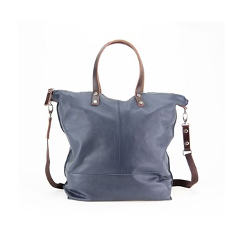 Paquetage - Aromatic - Shopping bag in pelle - grigio