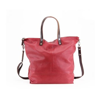 Paquetage - Aromatic - Sac cabas en cuir - rouge