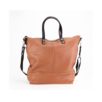 Paquetage - Aromatic - Shopping bag in pelle - cognac
