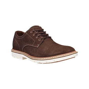Timberland - Derby in pelle - marrone scuro