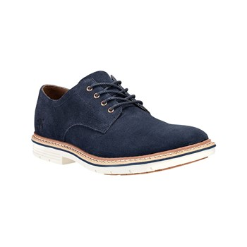 Timberland - Derby in pelle - blu scuro
