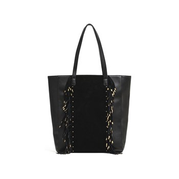 Amenapih - Moody - Shopping Bag - schwarz